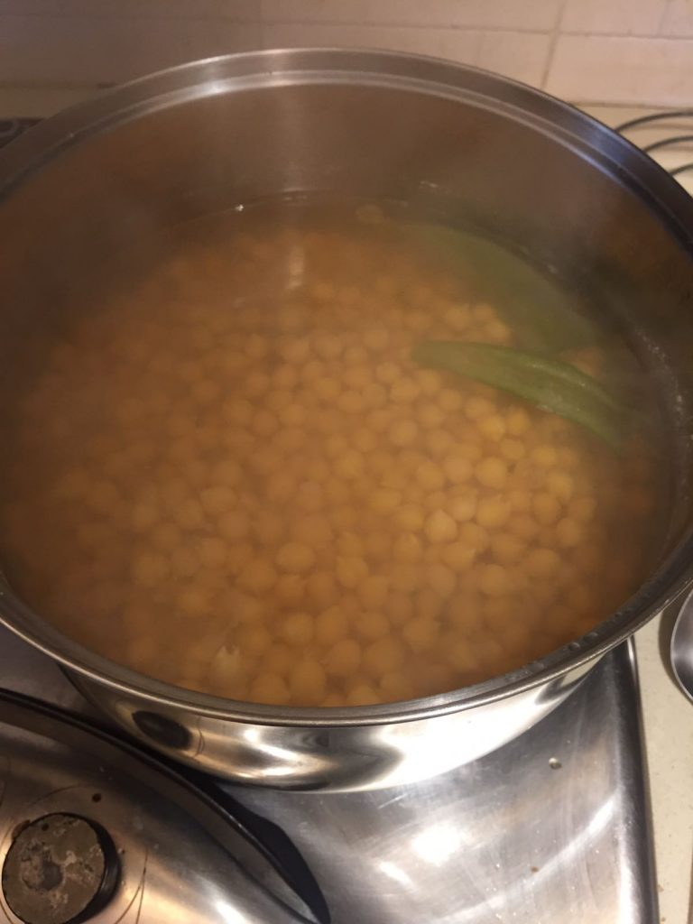 Cooking The Chickpeas