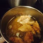 Frying The Chicken