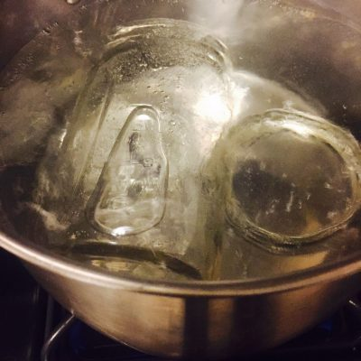 Sterilizing The Jar