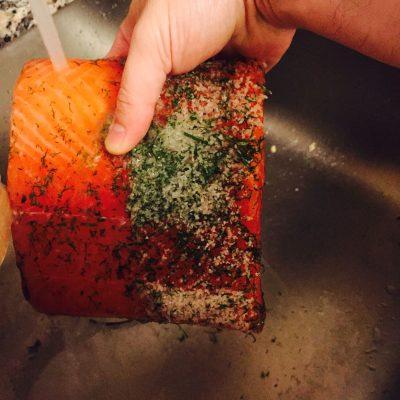 Washing The Salt Off
